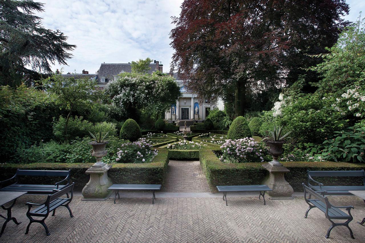 Open Garden in Amsterdam